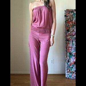 Karina Grimaldi 100% Silk Jumpsuit